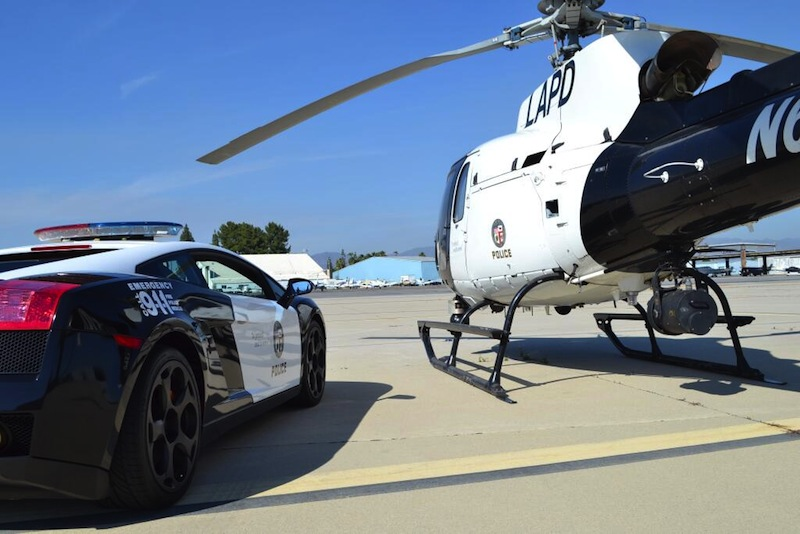 ロサンゼルス市警察 ランボルギーニ パトカー