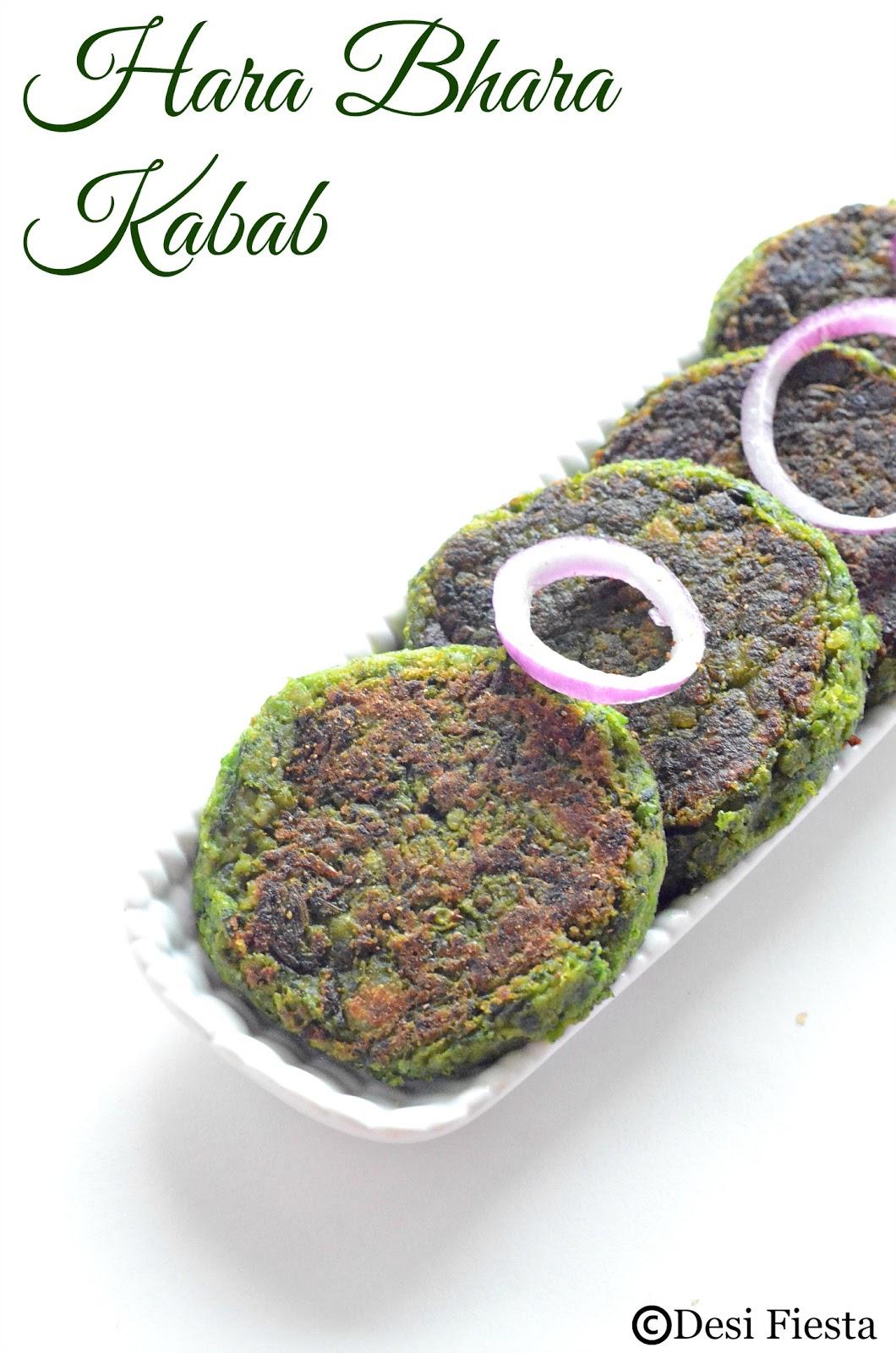 Spinach Tikki Recipe