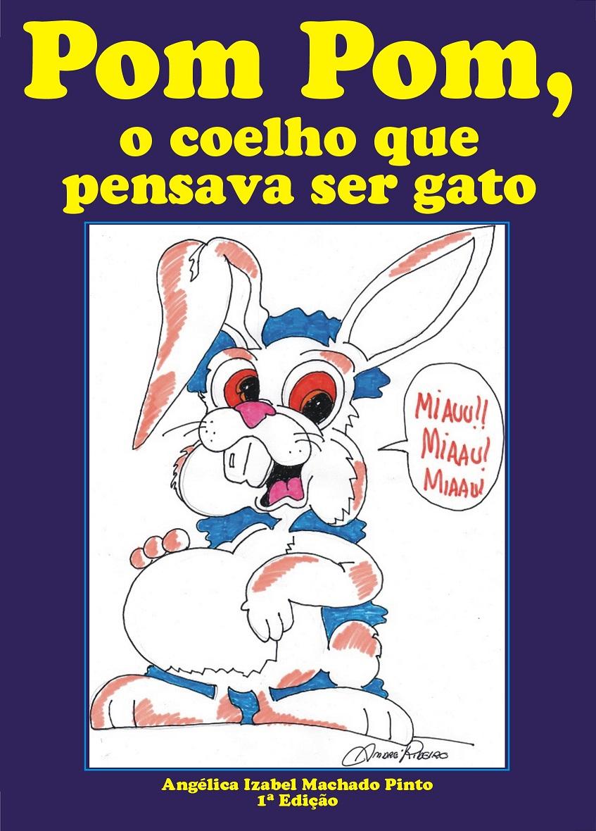 Pom Pom, o coelho que pensava ser gato