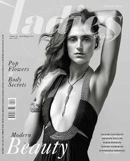 SuperModel Daiane Conterato does fashion photo spread for Ladies magazine.
