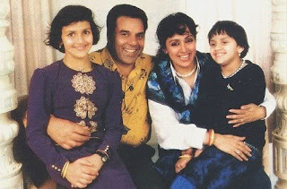 Esha Deol's Childhood family