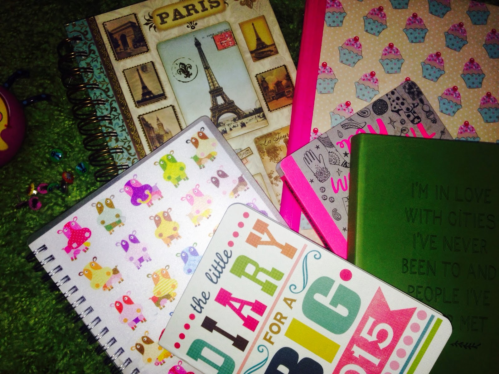 Inspire Magazine Online - UK Fashion, Beauty & Lifestyle blog | A burst of colour from a self inflicted stationary addict; Notebook; stationary; Inspire Magazine; Inspire Magazine Online