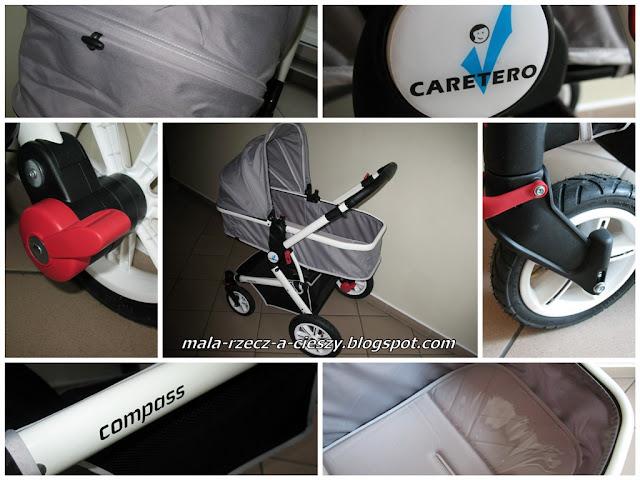 """Recenzja filmowa z testowania wózka Caretero 2w1 Compass Grey - część I """"Pierwsze wrażenie"""""""