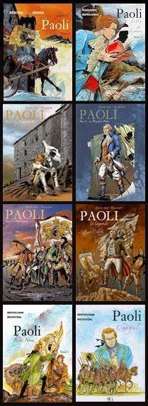 Paoli (3 tomes + 3 rééditions + 1 coffret + 1 Intégrale)