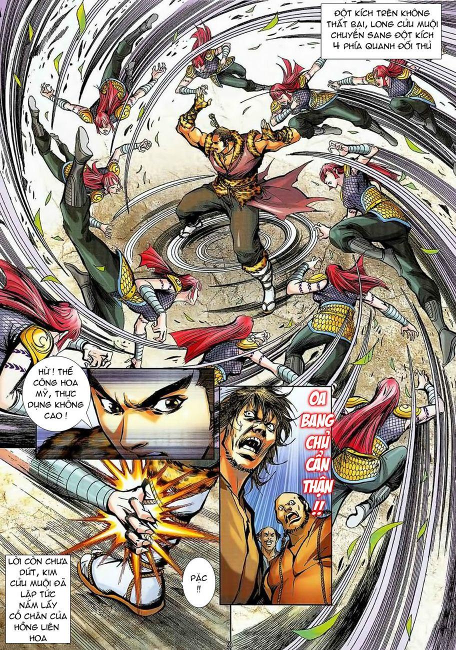 Thần Chưởng Long Cửu Châu chap 8 - Trang 9