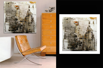 Victor-Raul Garcia's Gotham abstract contemporary painting