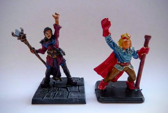 Dungeon Saga: Dwarf Kings Quest painted hero: Danor.