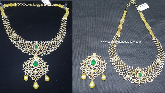 Removable Pendant Diamond Necklace
