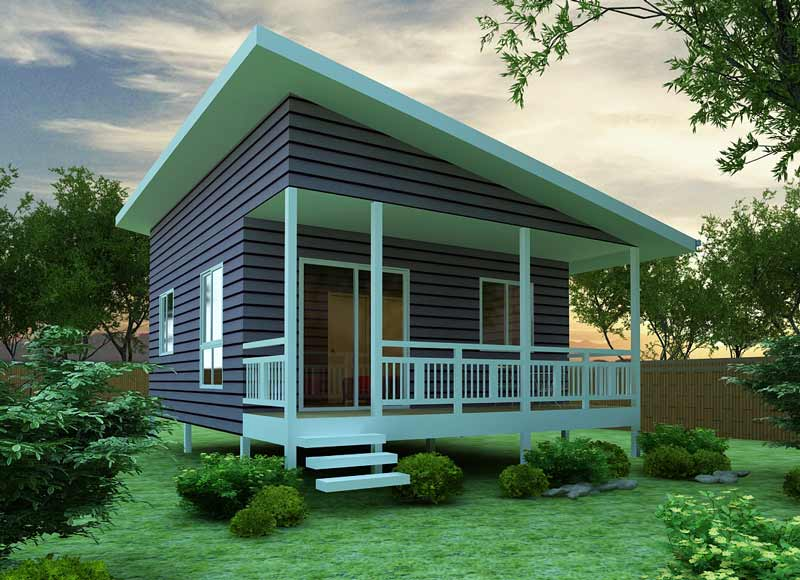 Modern mini homes designs ideas, front Exterior views.
