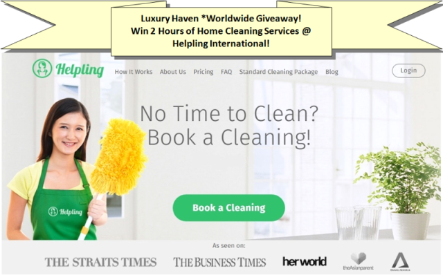 helpling international home cleaning service giveaway