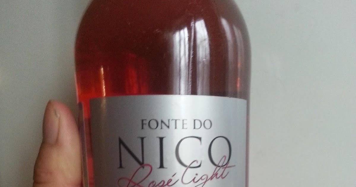 Два розовых вина - португальское Fonte do Nico <b>Rose Light</b> и ...