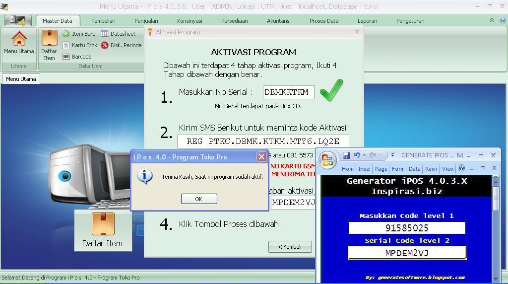 Program Toko Ipos 4.0 Crackl