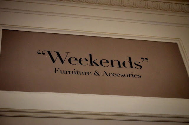 weekends furniture and accessories