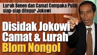 Inilah Alasan Jokowi Sidak