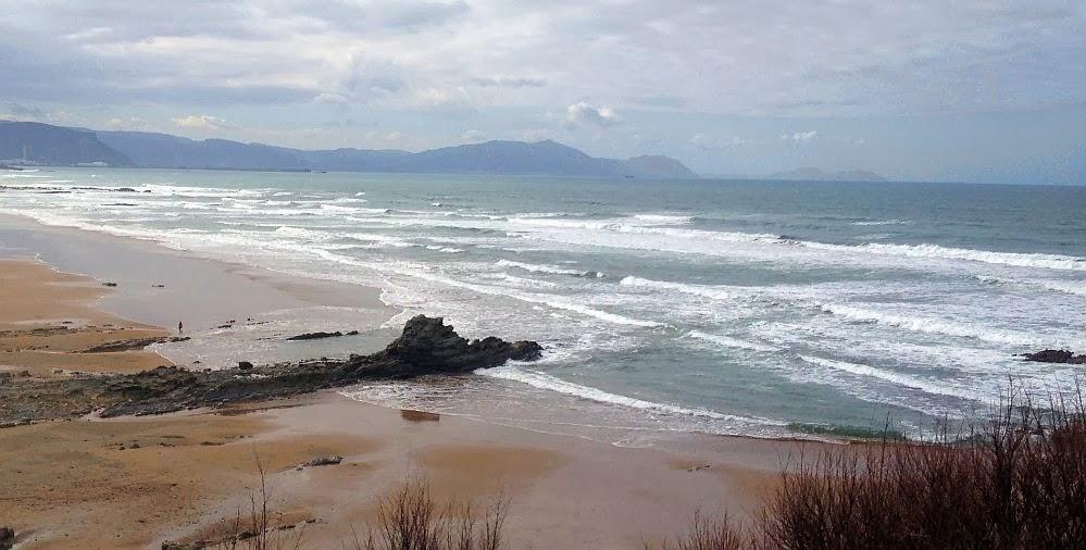 mejorando el tiempo en la playa de sope