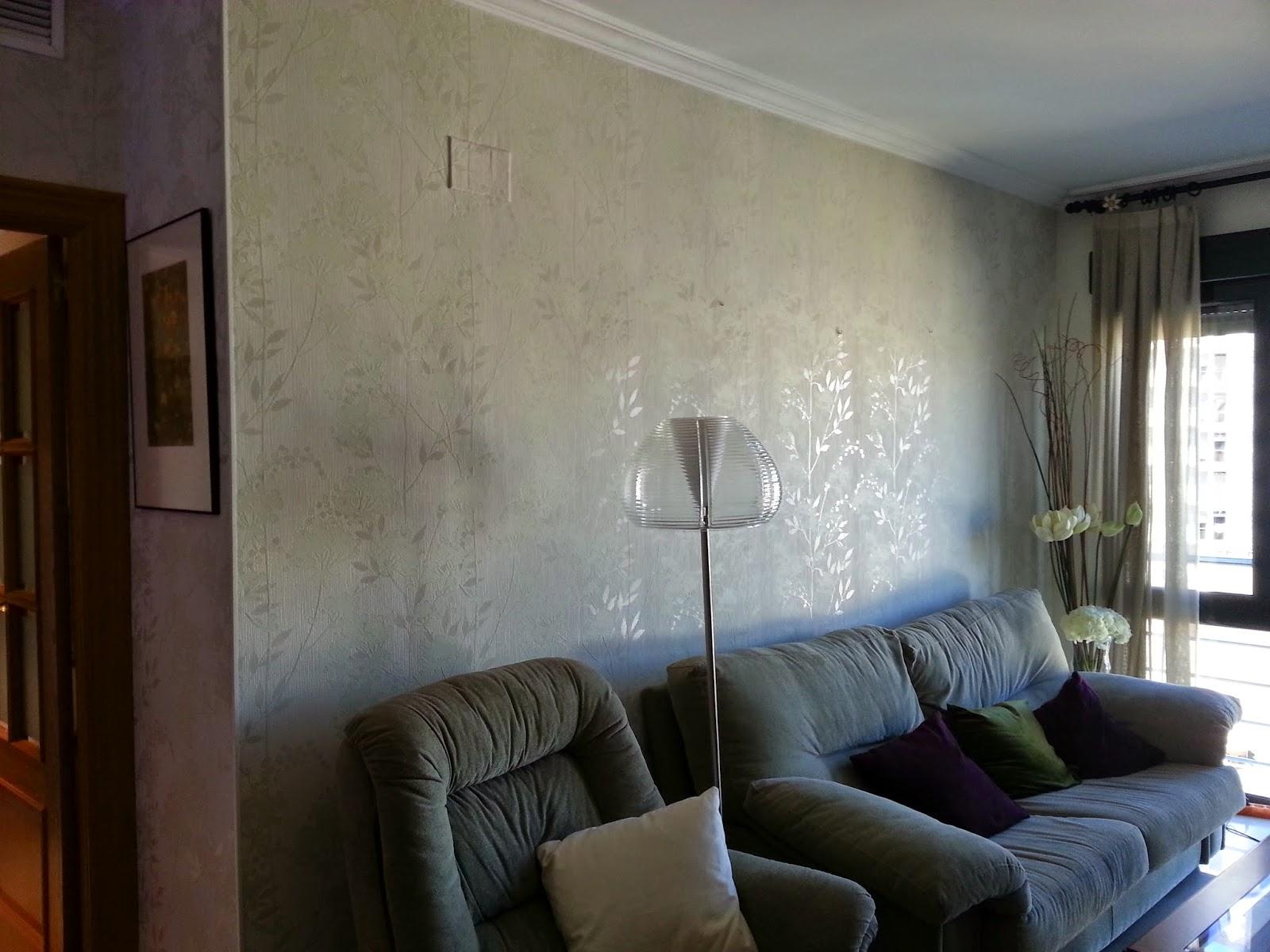 Papeles pintados y decoraciones en general papel pintado salon - Papeles pintados salon ...