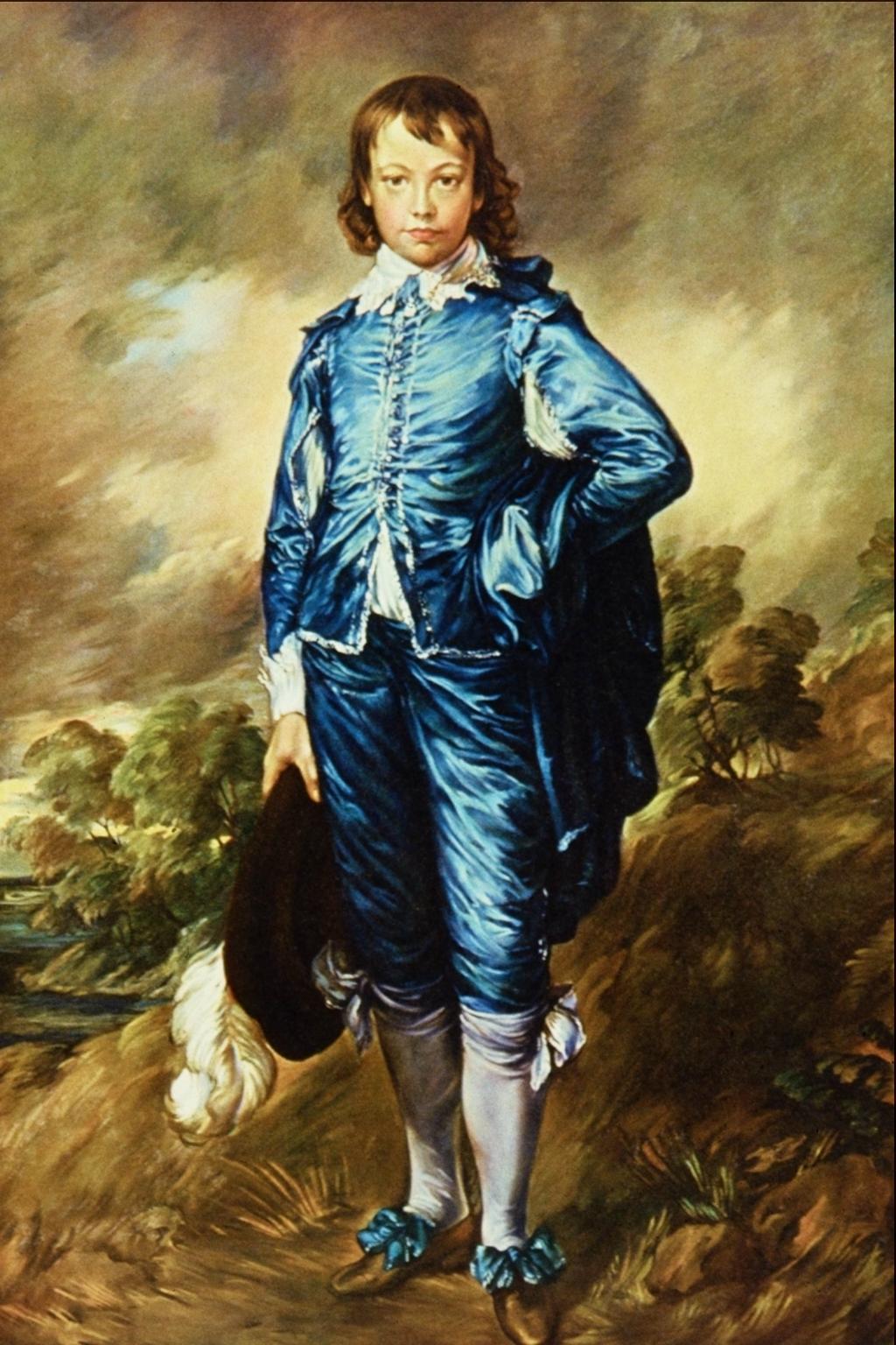 Blue Boy Painting Worth