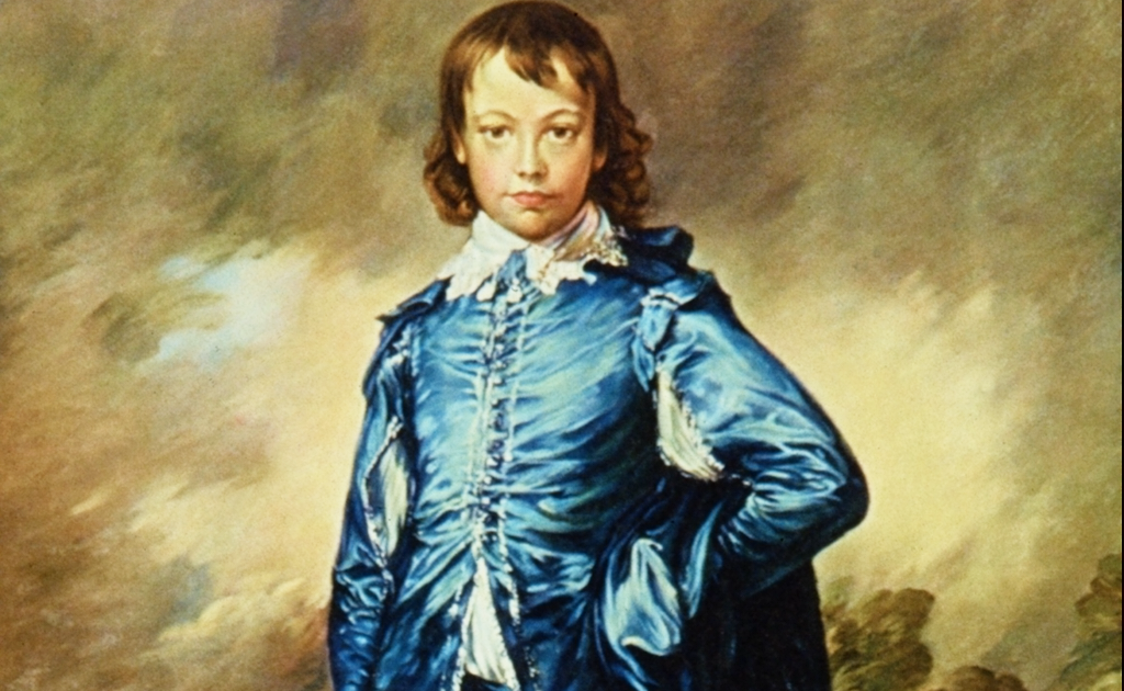 thomas gainsborough the blue boy essay Famous paintings for children, blue boy, mrs siddons by artist thomas gainsborough, for elementry and middle school students fun online educational games and worksheets are provided free for each biography.
