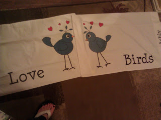Love Birds Pillowcases