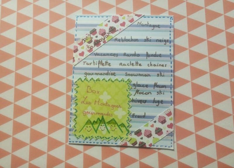 carte, handmade, carterie, scrapbooking, box, boite, maison du monde, printemps, nouvelle collection, collection