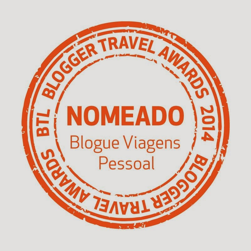 Fomos ainda nomeados para melhor blog pessoal