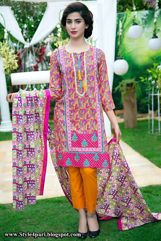 Satrangi Midsummer Dress Collection 2017 1