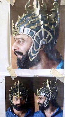 Prabhas Bahubali Getup First Look Pictures