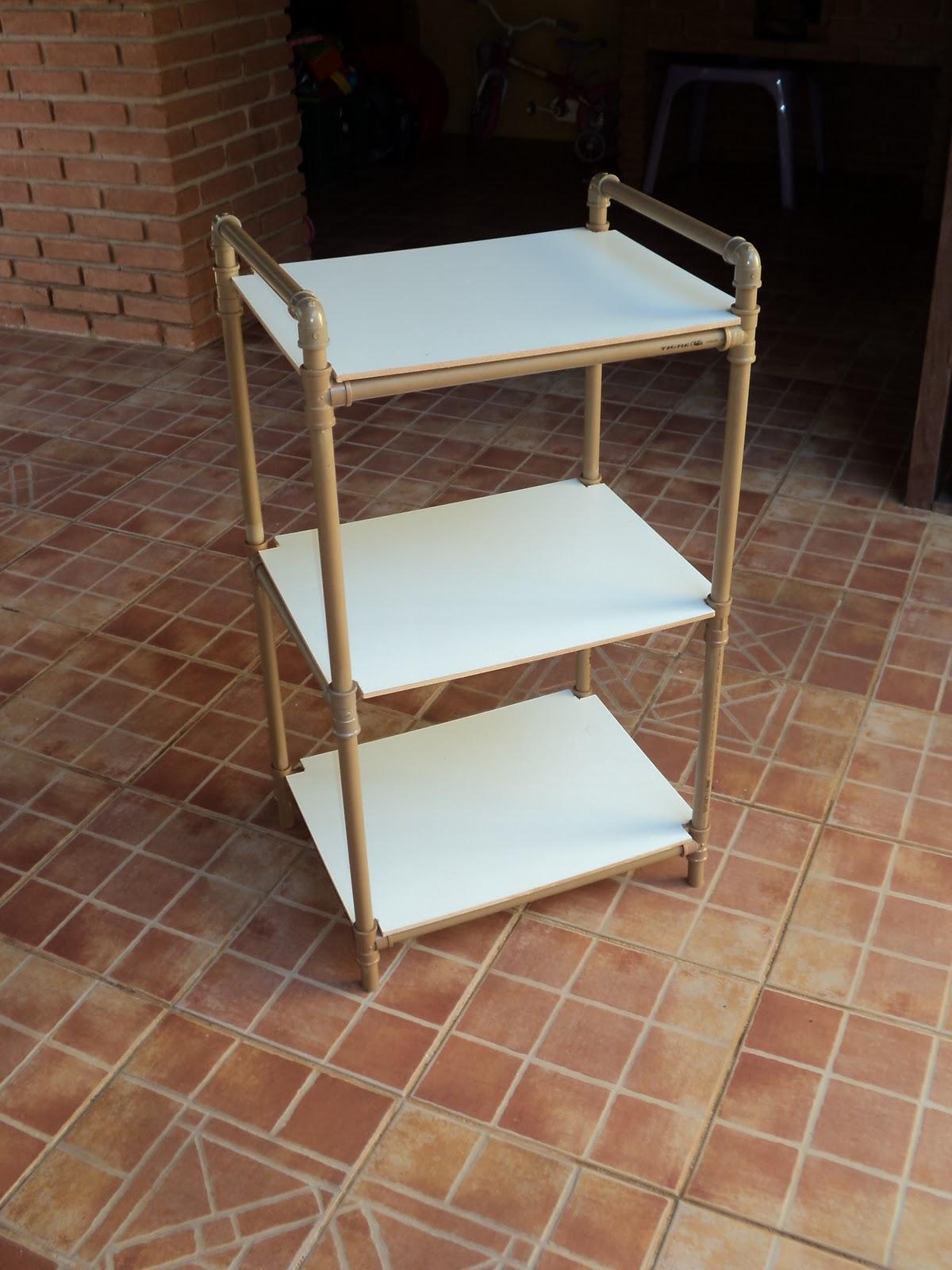PVC PASSO A PASSO Armário desmontável para Camping -> Armario Para Banheiro Pvc