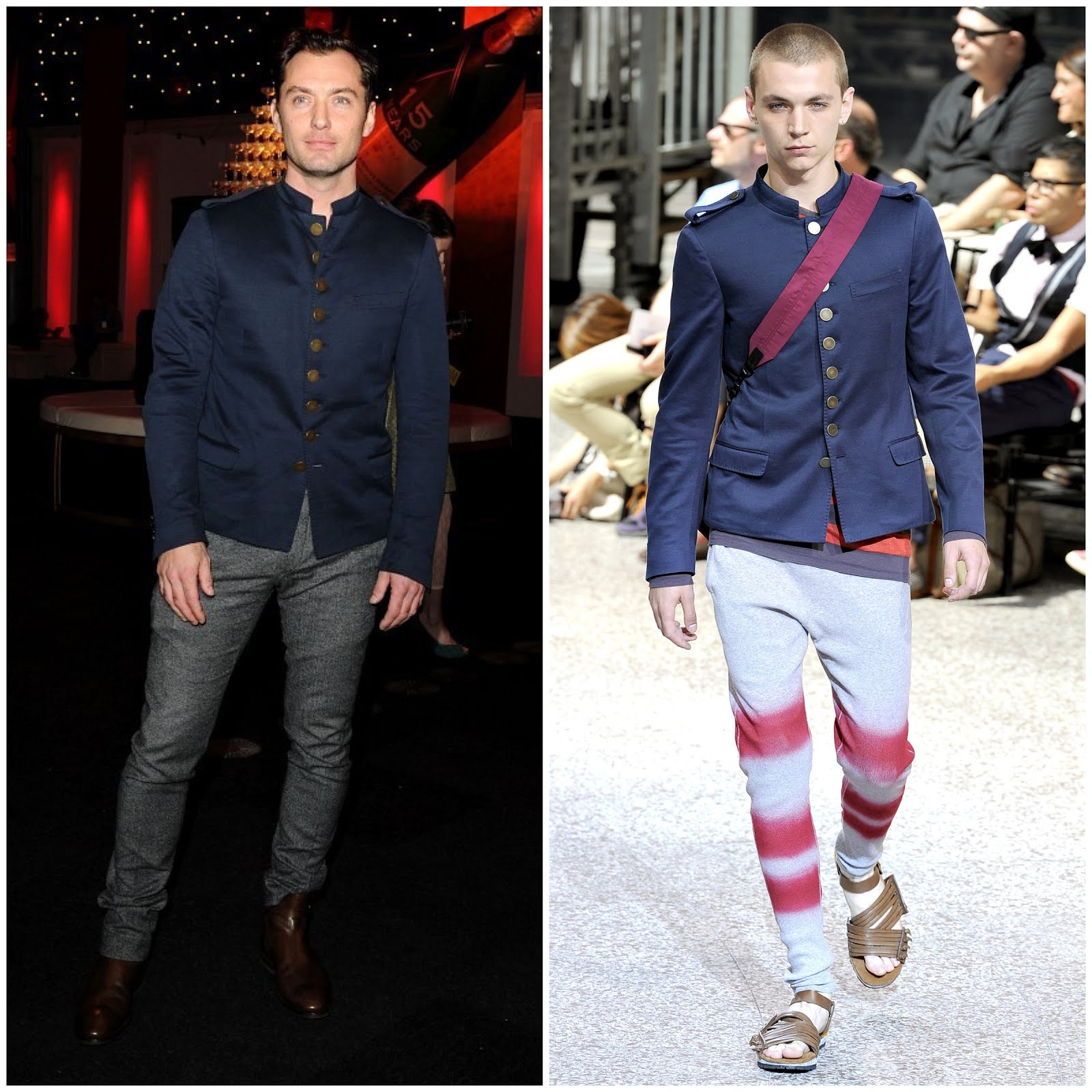 00O00 London Menswear Blog Jude Law in Lanvin - British Independent Film Awards