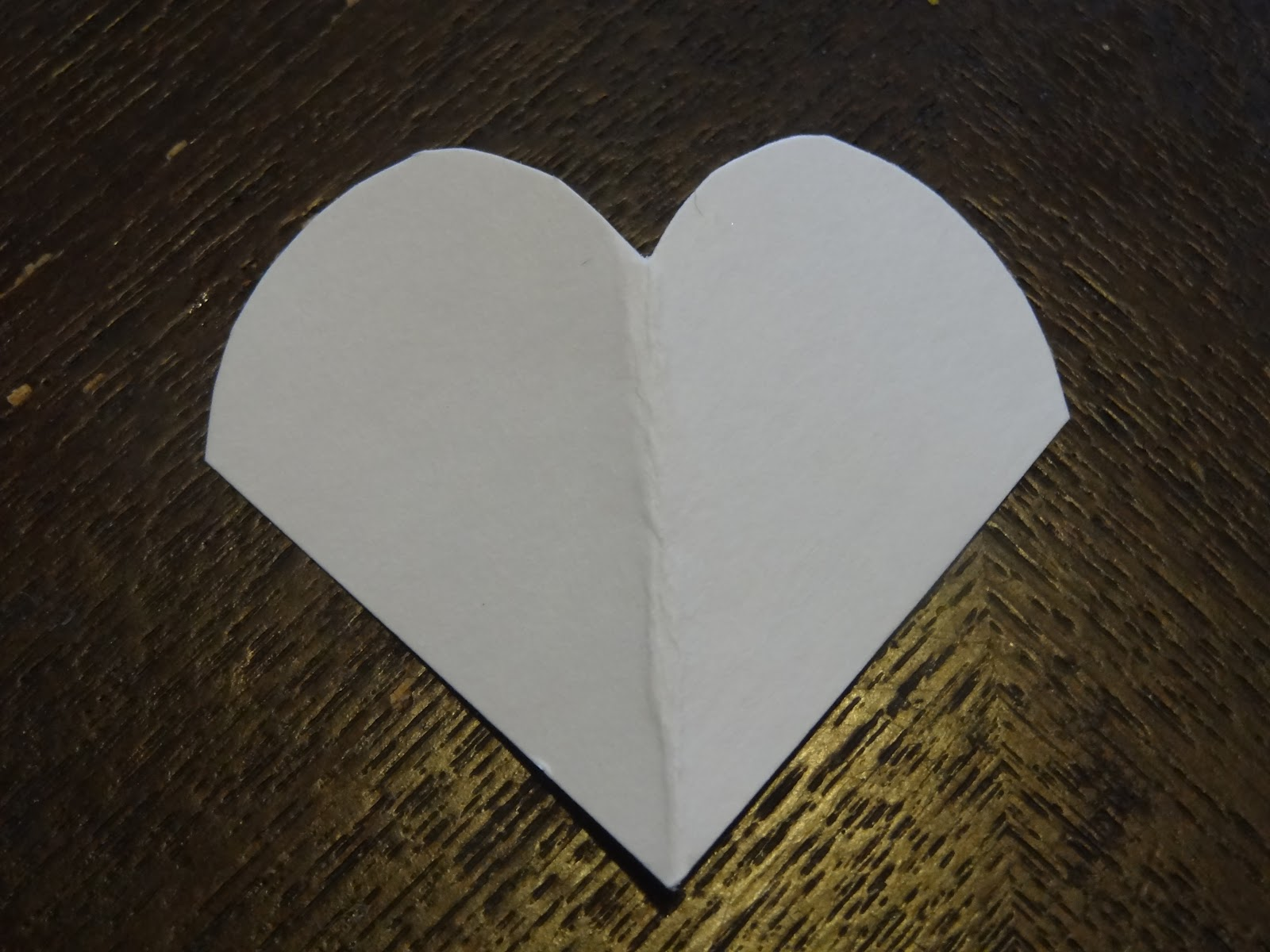 14 Days Of Valentines Day 12 Paper Heart Bookmark