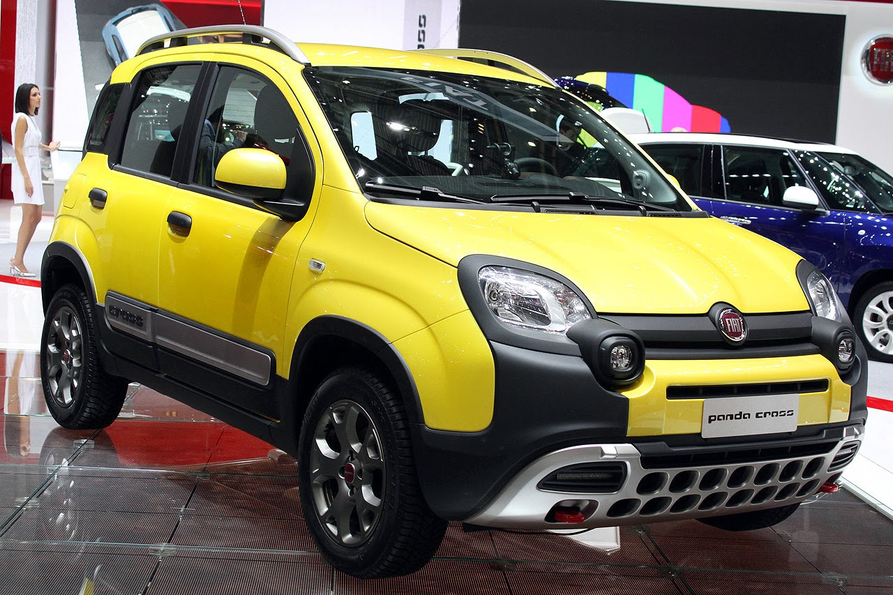automotiveblogz fiat panda cross geneva 2014 photos. Black Bedroom Furniture Sets. Home Design Ideas