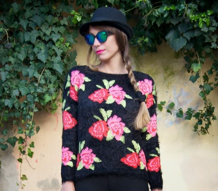 maglione rose