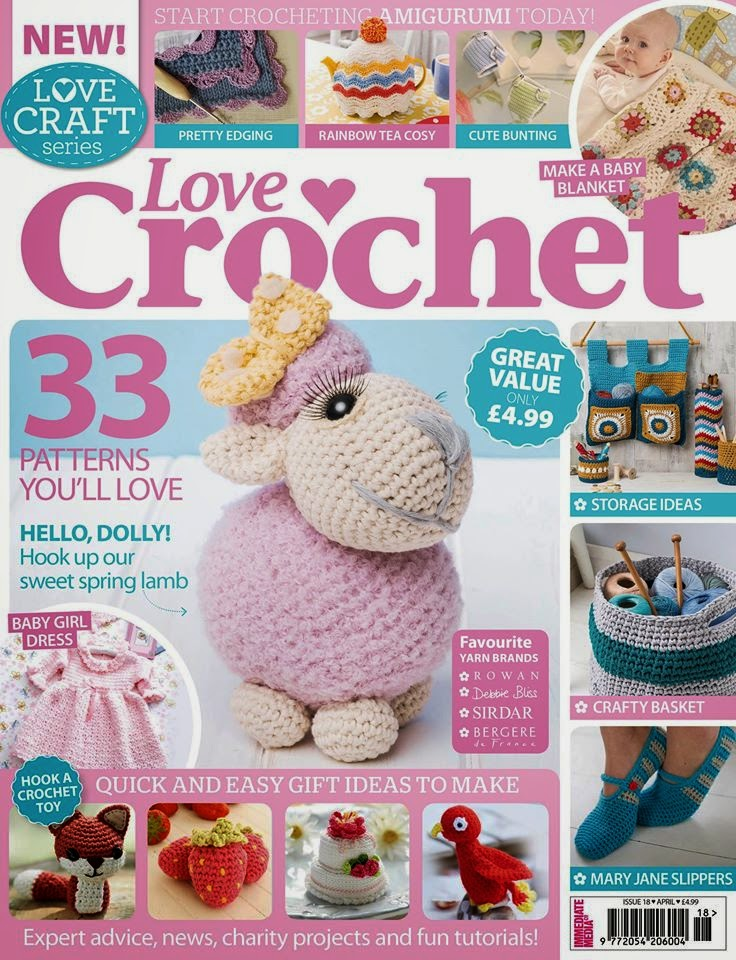 Love crochet dolly the sheep