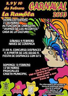 Carnaval de La Rambla 2013