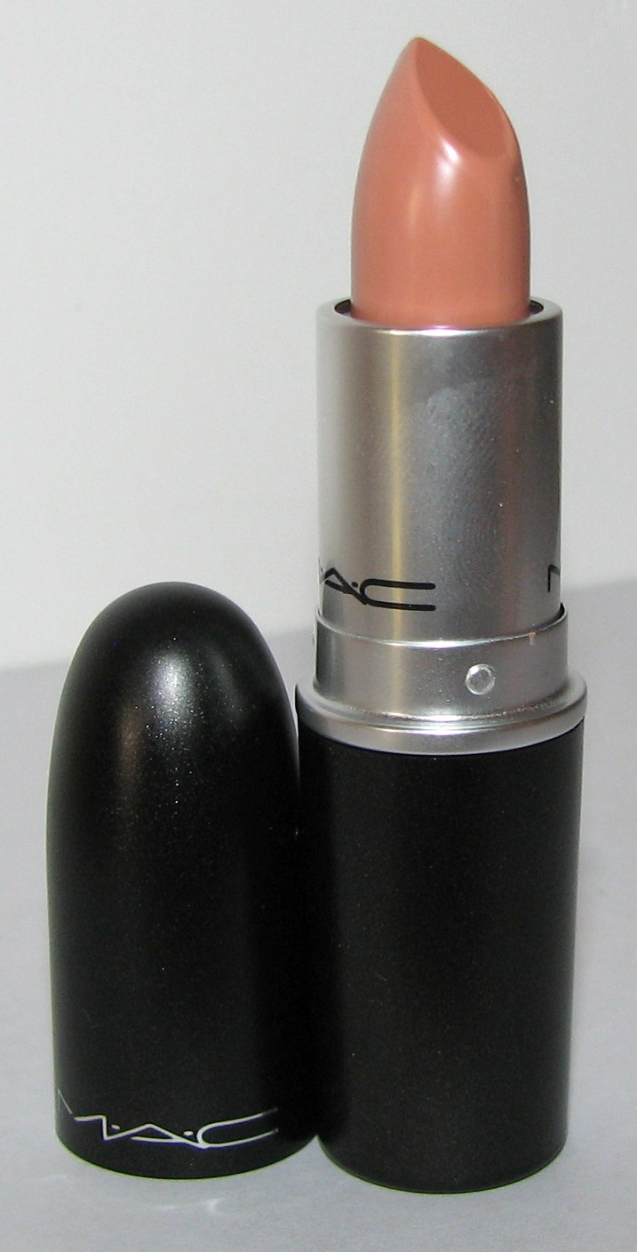 MAC Peachstock Lipstick Swatches & Review - MAC Me Over - Blushing ...