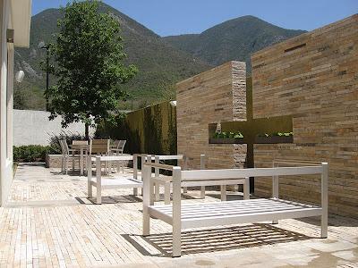 decoracion minimalista jardin y patio trasero