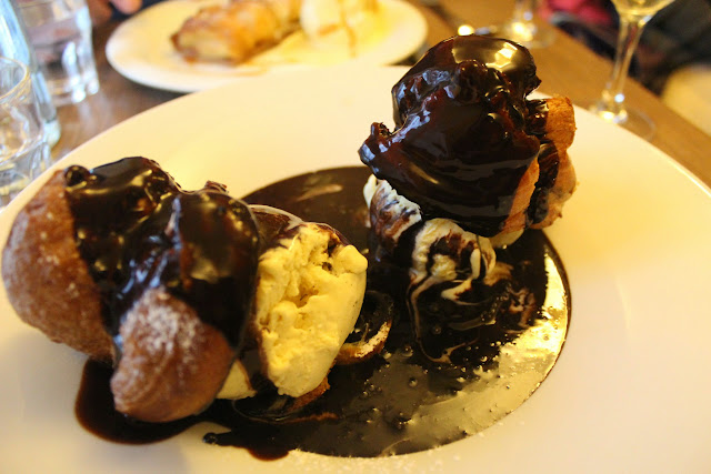 Profiteroles at Café Constant, Paris