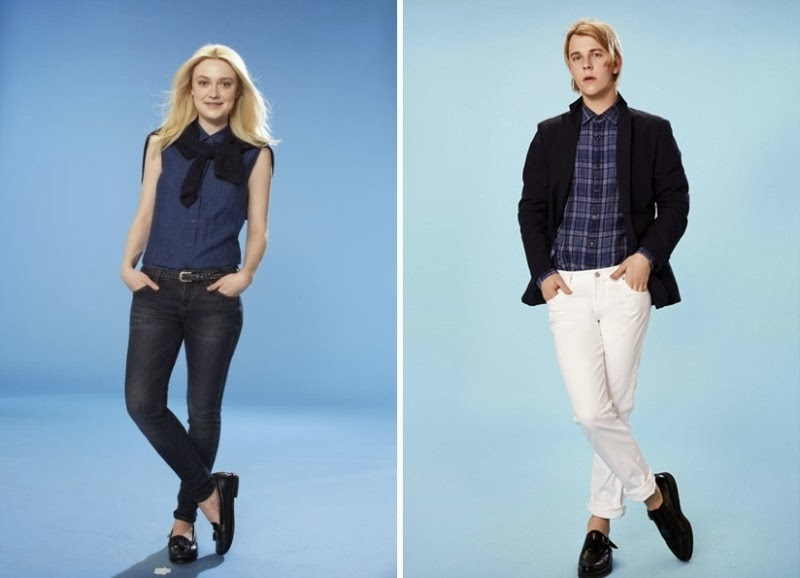 Dakota Fanning, Tom Odell, UNIQLO's Spring 2014 Collection, uniqlo, supima cotton, airism innerwear, polo shirt, denim