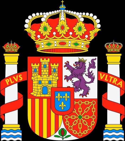 Dibujo HERÁLDICO: Escudo de España