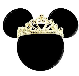 Minnie con corona de princesa disney dorada