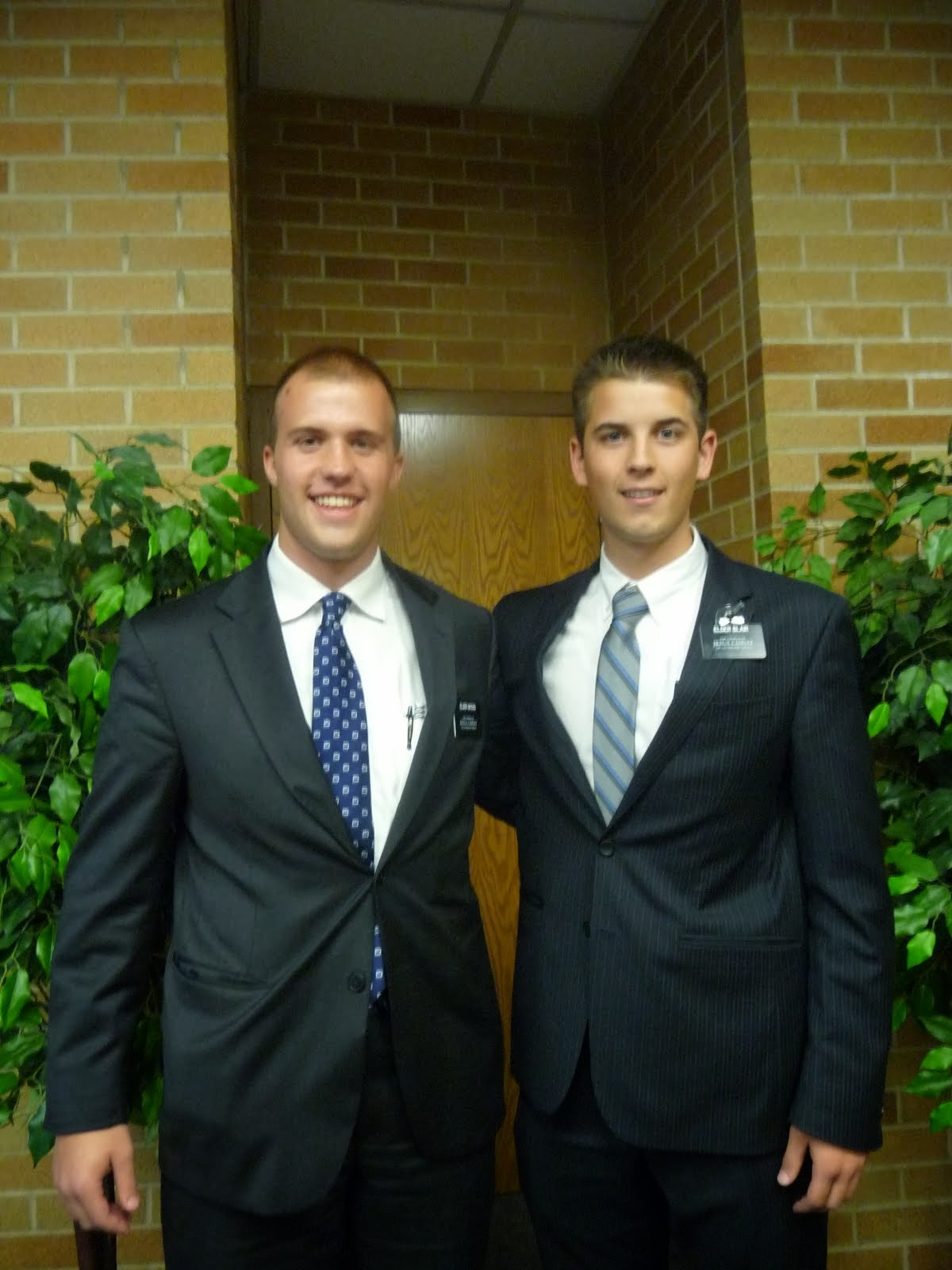 Elder Myers and Blair