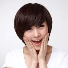 rambut-pendek-feminim-korea