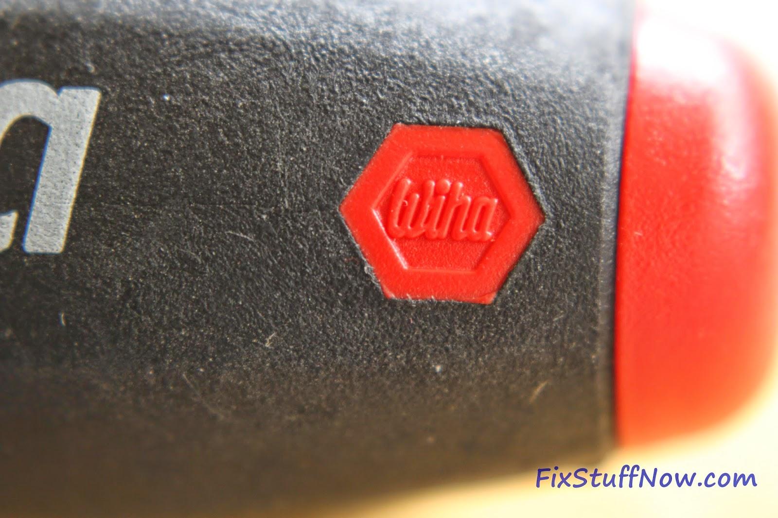 Wiha 36291 Torx Screwdriver Set - Closeup Of Logo