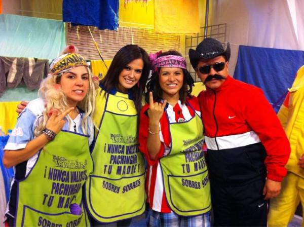 ... Lavanderas ) el programa salio al aire el Jueves 2 de Junio del 2011
