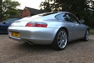 Porsche 996 Oettle Muffler Exhaust