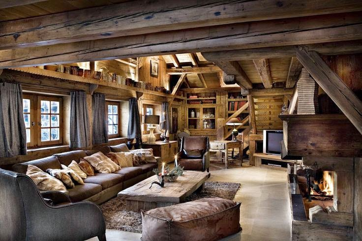most beautiful houses in the world rustic interior design
