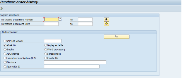 How to write and sap query