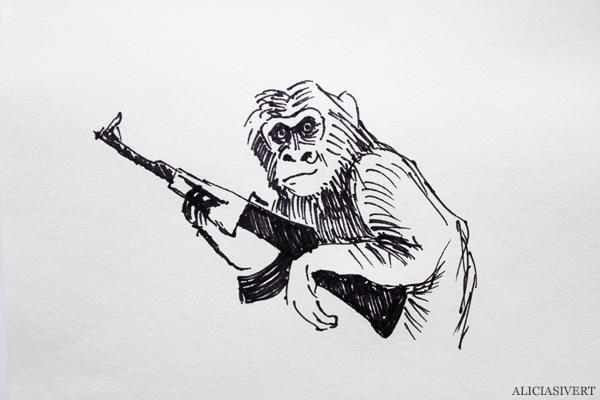 aliciasivert, alicia sivert, alicia sivertsson, apornas planet uppgörelsen, dawn of the planet of the apes, recension, 2014, bio, film, movie, schimpans, caesar, koba, apor, apa, ape, weapon, vapen
