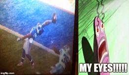 beckham jr. Catch. My eyes!!!