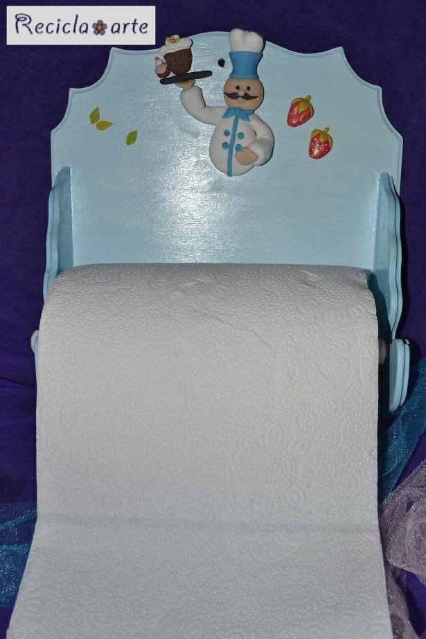 Manualidades recicla arte porta toalla nova for Colgadores para toallas